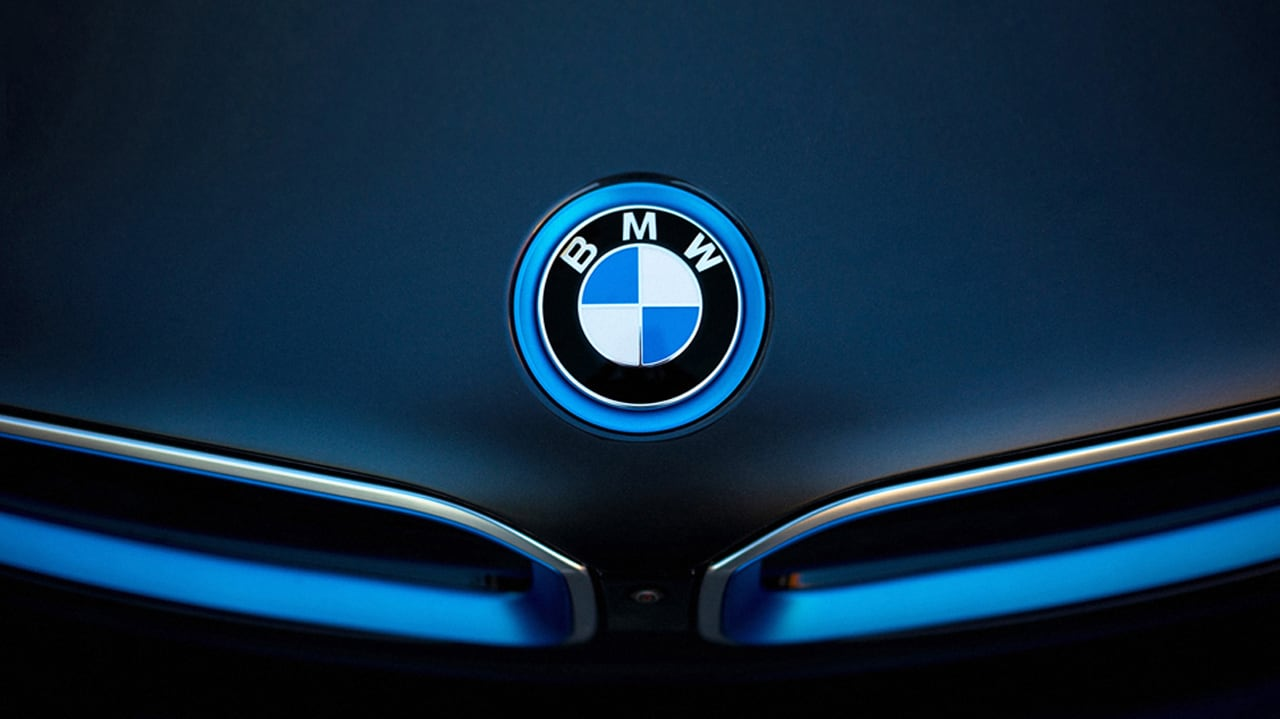 BMW i8 User Interface